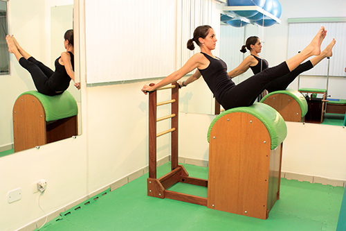 Método Pilates: Barril (Full Barrel)