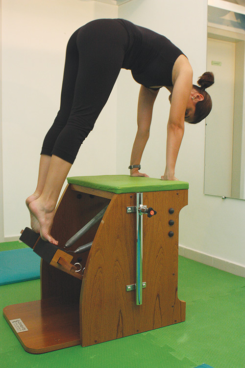 Método Pilates: Cadeira (Chair)