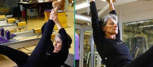 Cássia Kiss aposta no Pilates aos 56 anos