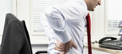 Sua dor na coluna piora quando você está sentado?