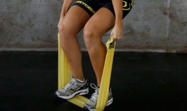 Veja dica de treino com faixa elástica para praticantes de corrida