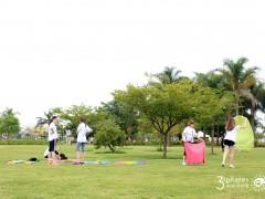 3º Pilates ao Ar Livre
