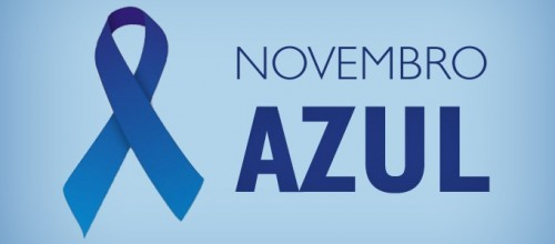 Novembro azul – campanha de conscientiza sobre câncer de próstata