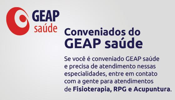 Convênio GEAP para Fisioterapia, RPG e Acupuntura