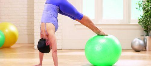 Benefícios do Pilates com bola
