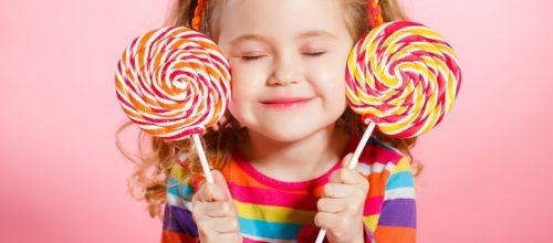 Dar açúcar para crianças não é um sinal de carinho