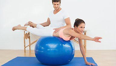 Fisioterapia e Pilates: benefícios da bola de pilates na fisioterapia