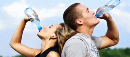 Cor da urina e hidratação