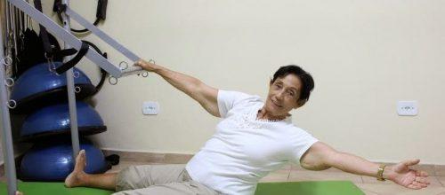 Pilates na prevenção de quedas na terceira idade