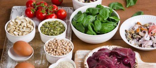 Saiba quais são os alimentos ricos em ferro