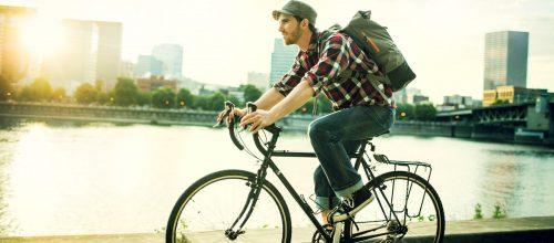 Use a bicicleta como meio de transporte, é mais saudável para o corpo e mente