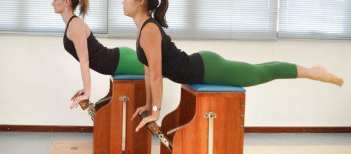 Tratando a hérnia de disco com Pilates